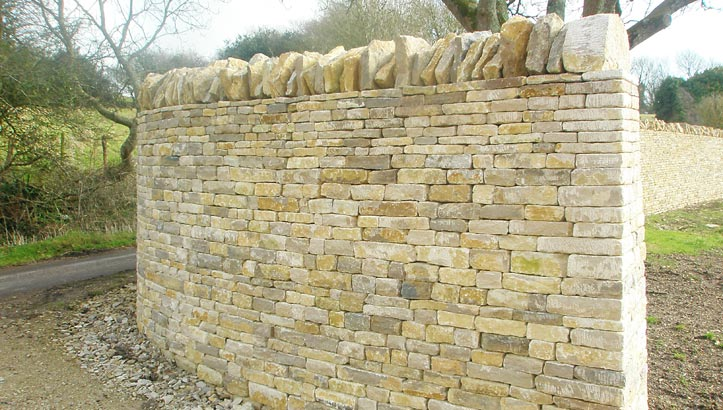 John Hepworth Dry Stone Walling in the Cotswolds