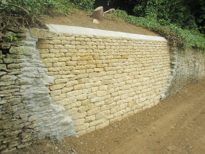 Dry Stone Walling - Cotswolds